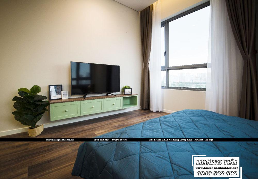 Dự án thiết kế nội thất phòng ngủ chung cư Diamond Island 137m2 - Anh Hiếu