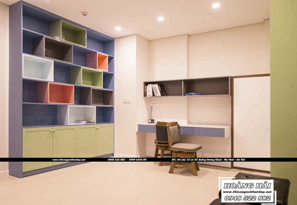 Dự án thiết kế nội thất chung cư Diamond Island 137m2 - Anh Hiếu