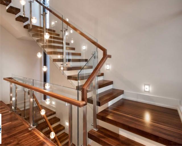 sàn gỗ cho cầu thang cao cấp