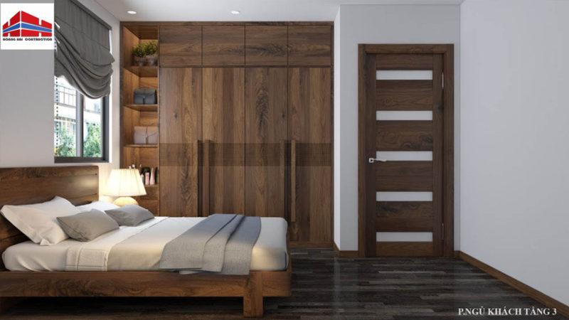 mẫu giường ngủ gỗ óc chó