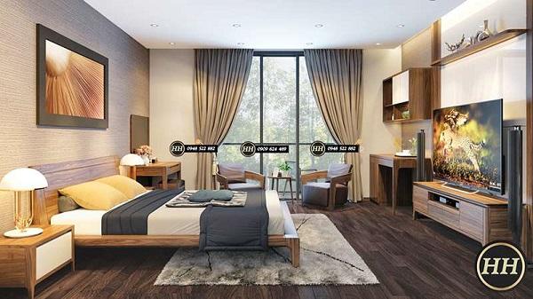 Điểm nổi bật của giường ngủ làm từ gỗ óc chó